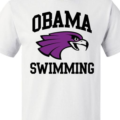 Obama Swimming T-shirt