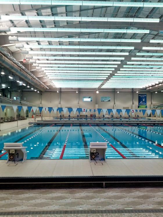 SPIRE swim pool.