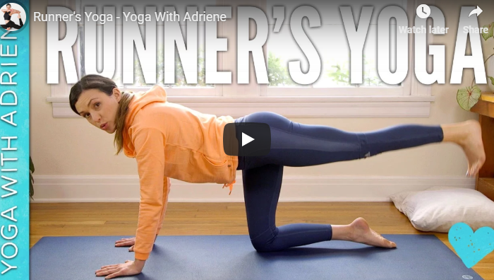 Runners' Yoga screen capture
