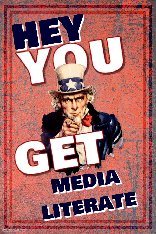 Uncle Sam says get media literate