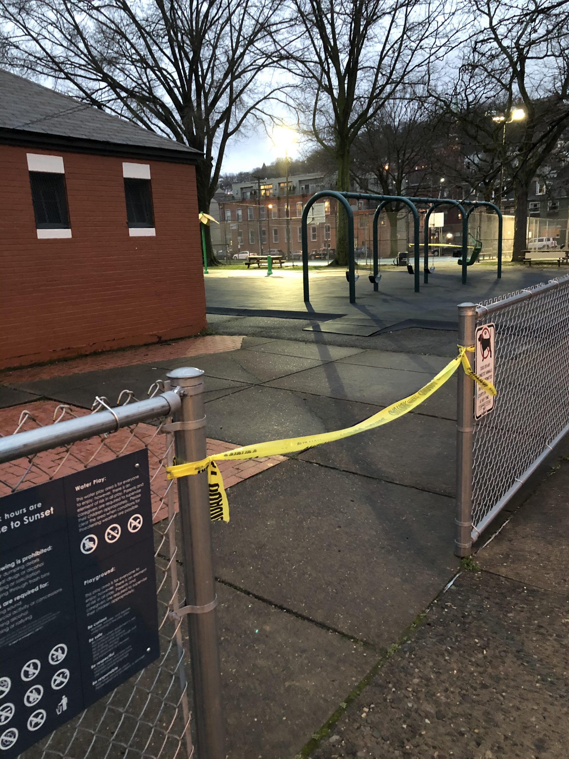Armstrong Park is closed for COVID-19