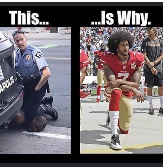 Police Knee AA Civilian