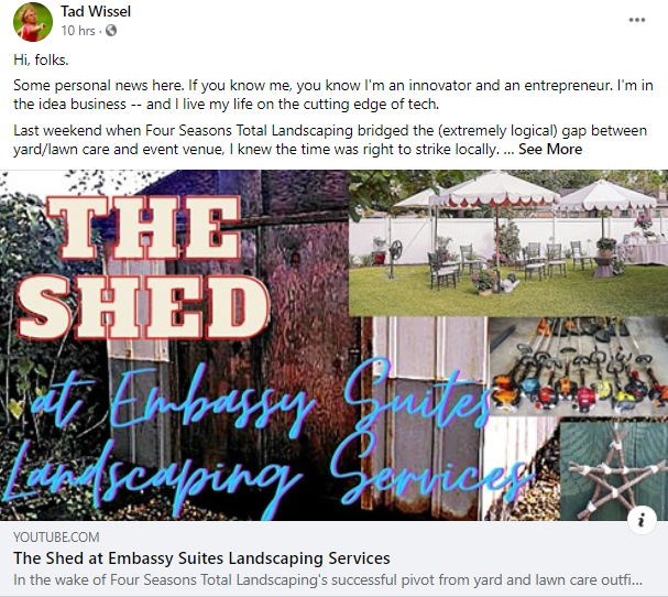 The Shed Cover