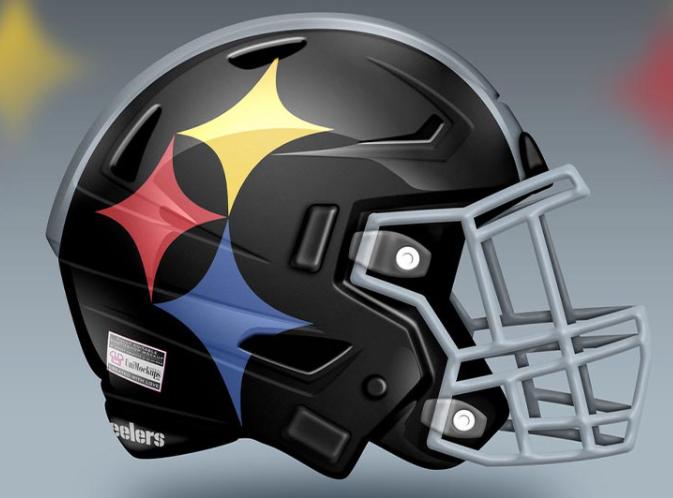 Alternative Steelers helmet